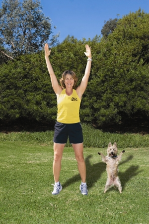 Dawn Celapin & Jack - Owner Leash Your Fitness
