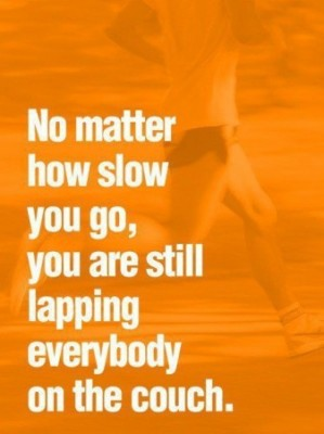 now matter how slow